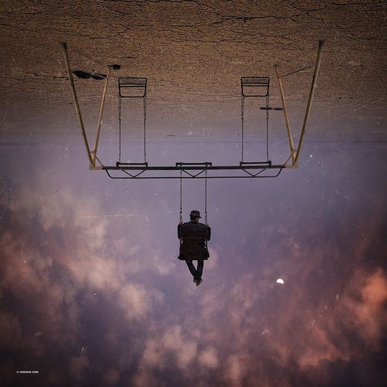 The last time we checked in with photographer Hossein Zare, he had put together a collection of powerful black and white photos of a lone man forever in search of something. Using both his camera and Photoshop, Zare is able to create worlds that dont exist, surreal places found only in our dreams.