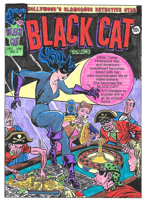 Rediscovering the forgotten Lady Crime-Fighters, Super Heroines, Sci-Fi Super Women and swinging Jungle Goddesses from the Golden Age of Adventure Comics – Romance Comic Coloring Books presents: Don't Mess With These Dames! Coloring Book. These colored masterpieces were sent in by our fans.