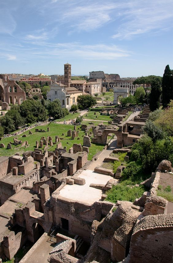 The Roman Forum, Rome, Italy .. Where Paul in the bible walked. Cool to visualize! Was there in 2011-2012 a few times
