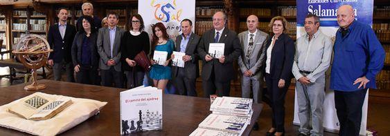 'El camino del ajedrez' vincula a la Universidad de Salamanca como cuna del ajedrez moderno | Sala de Prensa