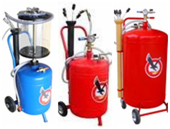air operated waste oil suction ,waste oil drainer in 24L, 80L,90L, 120L