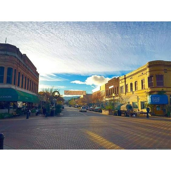 Sunny downtown Winters