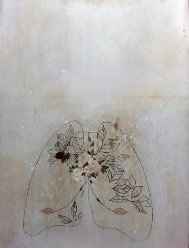 "Saatchi Art Artist Karenina Fabrizzi; Drawing, ""Laura es"" #art"