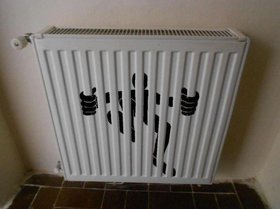 Very cool! We should do this on all our radiators!