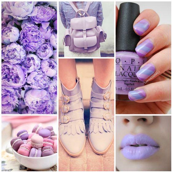 Los colores nos inspiran! Nuestro elegido para esta mañana es el lila.  #Lilac #Moodboard