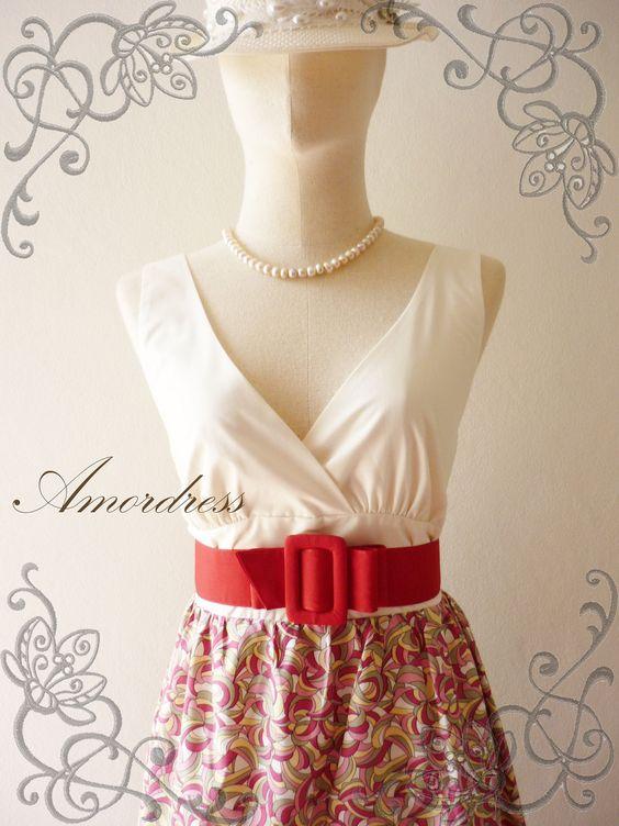 10OFF Amor Vintage Inspired Vintage Retro Dress by Amordress, $42.00