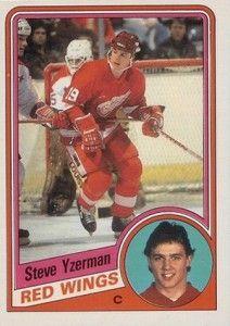 Steve Yzerman hockey card - Google Search