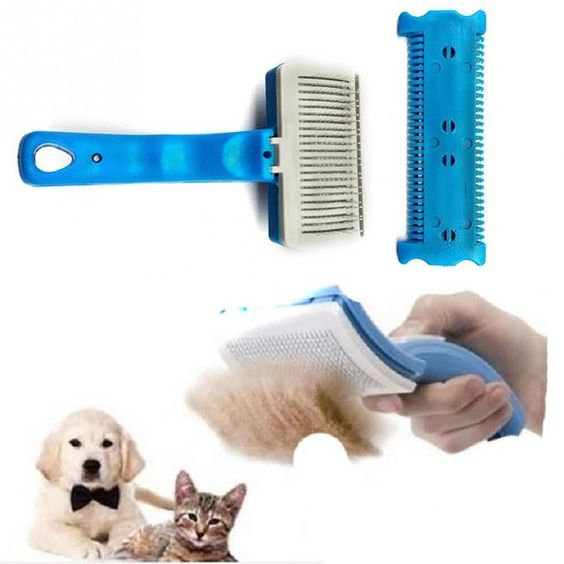 New Grooming Self Cleaning Dog Brush
