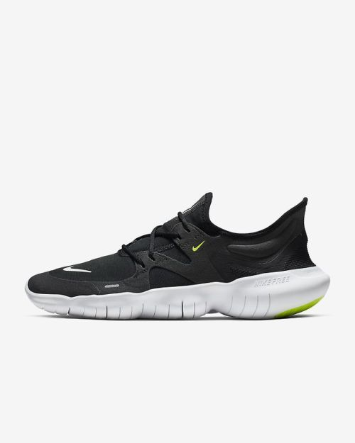 Nike Free Rn 5 0 Black Anthracite Volt White Shoes 2019 Womens Running Shoes Nike Running Shoes Women Running Shoes For Men