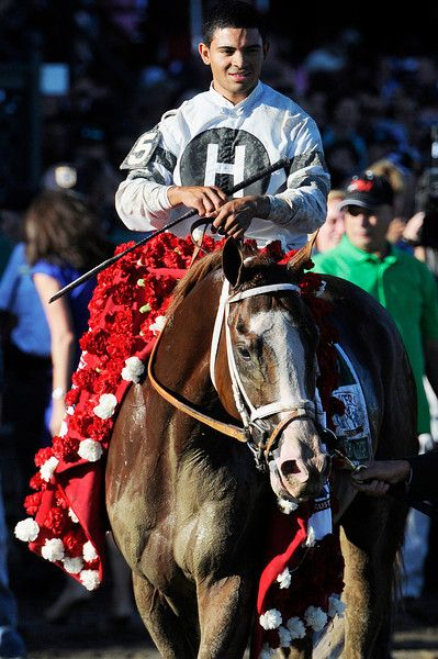 Will Take Charge trained by D. Wayne Lucas ridden by Luis Saez won the million dollar Travers Stakes this Saturday afternoon at the Saratoga Race Course.Photo Erica Miller/The Saratogian 8/24/13 TraversEM6
