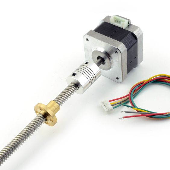 Pinterest the world s catalog of ideas Stepper motor with lead screw