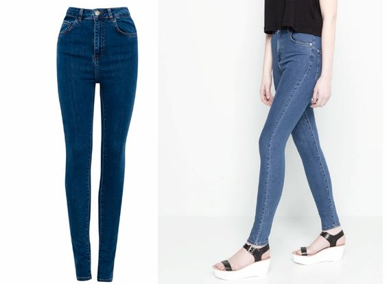 L's Notebook: Es Tendencia: Jeans de tiro alto