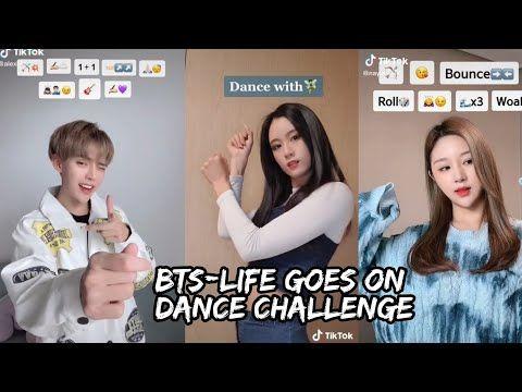 Bts Life Goes On Tiktok Dance Challenge New Trending Tiktok Dance Challenge Youtube Life Goes On Challenges Life