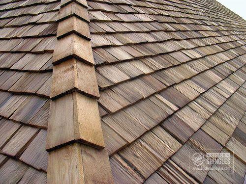 Cedar Shake Roof Corner Wood Shingles Metal Shake Roof Roof Shingles