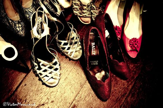 vintage shoes at AVFF - photography by VictorMoss