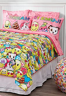 Queen Size Emoji Bed In A Bag Ellie Pinterest Bags