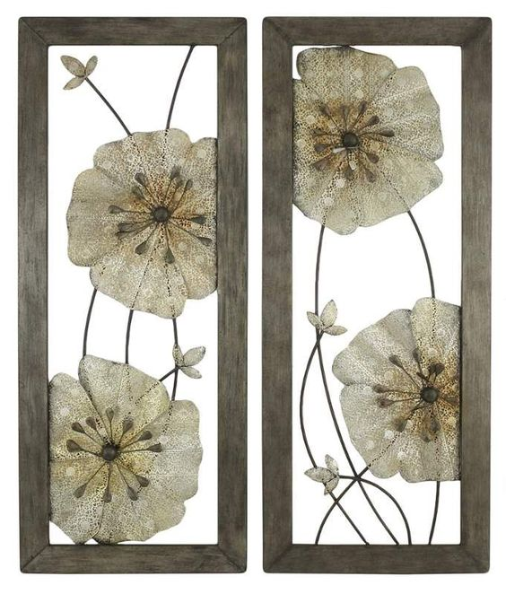 View the Aspire Home Accents 5144 Marla Flower Wall Decor (Set of 2) at Build.com.