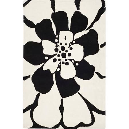 black and white rugs - Google Search