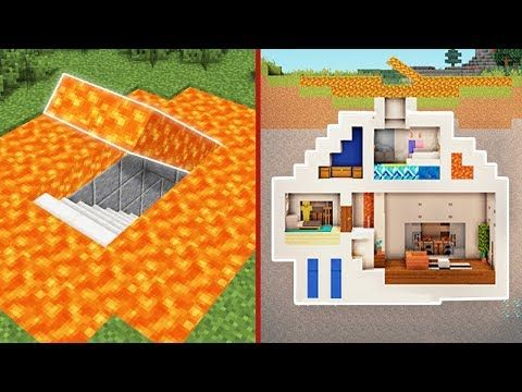 Minecraft How To Build A Modern Secret Base Tutorial 3