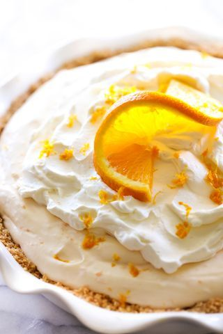 Orange Creamsicle Pie | Chef in Training | Bloglovin'