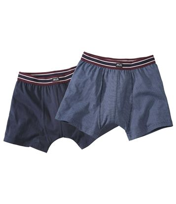 2Er-Pack Marineblaue Shorts #atlasformen #atlasformende #atlasformendeutschland #meinung #winter #kanada