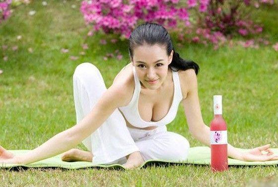 Fashion, sexy, seductive beauty yoga exercise.