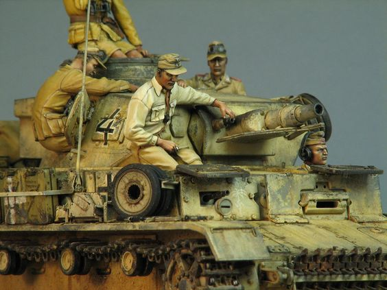 Dioramas and Vignettes: Pz.IV Ausf.E in Africa, photo #10