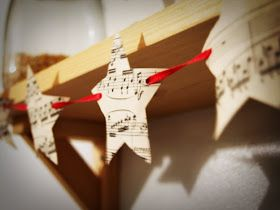 Lisa Swift: Create: DIY: Christmas Stars Garland