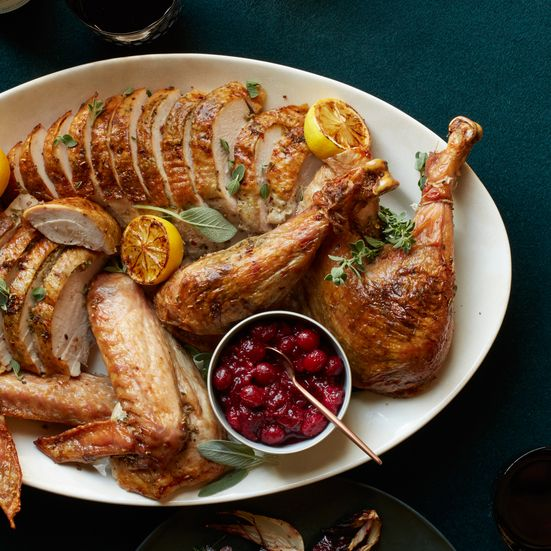 This best-ever Porchetta-Spiced Turkey with Pan Gravy recipe gets flavor from fennel, garlic, oregano and more. Get the recipe at Food & Wine.