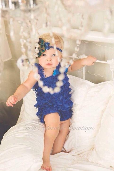#baby #infant #girl #romper #dressy