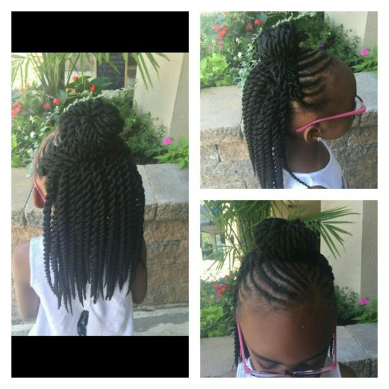 Kids crochet, Crochet braids and Braids on Pinterest