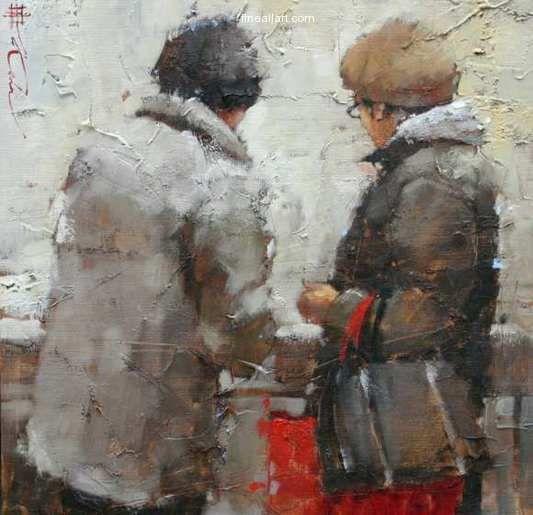 Andre Kohn At The Market