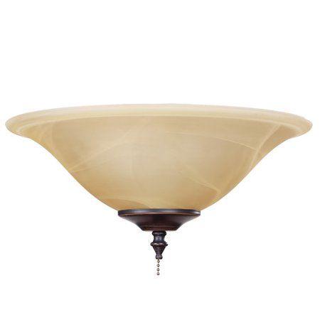 Charlton Home 1 Light Bowl Ceiling Fan Light Kit Image 1 Of 1 Ceiling Fan Light Kit Fan Light Kits Fan Light