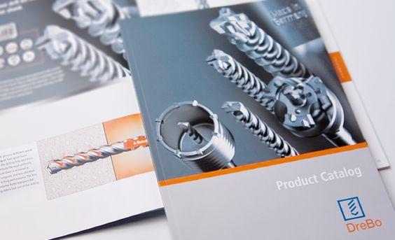 Produktkatalog für DreBo Werkzeugfabrik GmbH: Ein Katalog, der die besondere Qualität der gezeigten Produkte erlebbar macht, gelingt mit Liebe zum Detail.