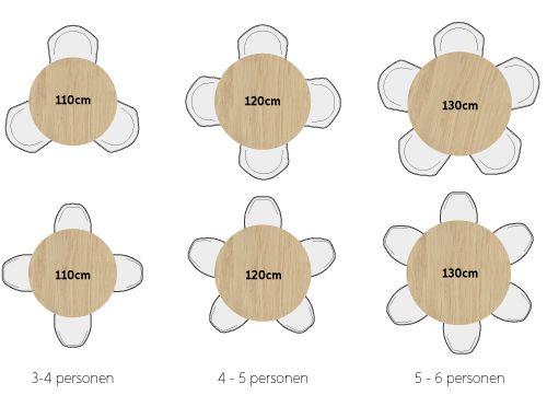 Ronde Tafel 4 Personen Afmeting.Ronde Design Tafels Eettafel Tafel 6 Personen En Eetkamer