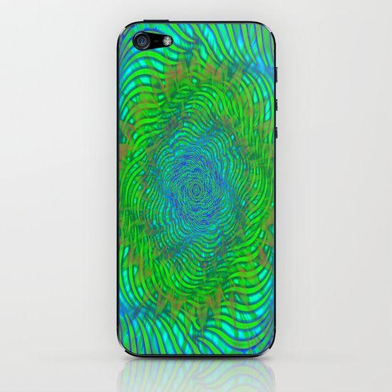 Hypnotica #2 Warping Optical Illusion iPhone & iPod Skin