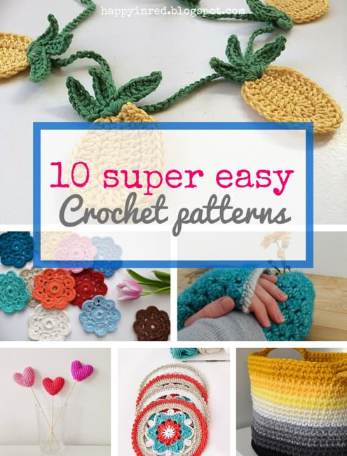 Crocheting Projects For Beginners : crochet projects crochet projects easy crochet crochet happy projects ...