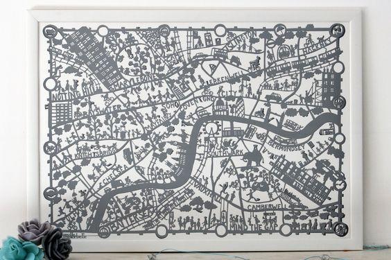 878+BODIE+and+FOU+London+map+print+grey+in+situ.jpg (1600×1066)