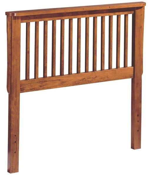 Youth Oak Twin Bed Headboard W/Solid Wood