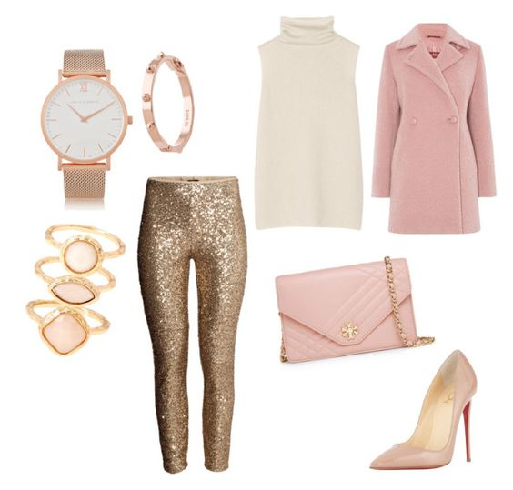 """""""Untitled #5"""" by sweethero on Polyvore featuring H&M, The Row, Larsson & Jennings, CC SKYE, Monsoon, Christian Louboutin, Tory Burch and MaxMara"""