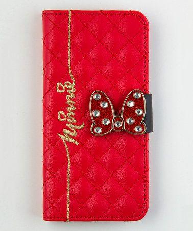 Minnie Mouse iPhone 6 Folio Wallet #zulily #zulilyfinds