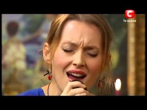 Aida Nikolaychuk sings for Thomas Anders. X Factor - 3 [20.10.2012] - YouTube