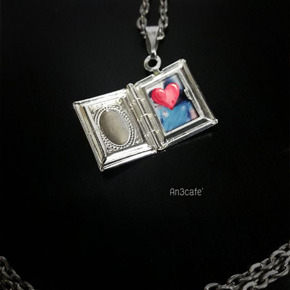 Mini book Lockets
