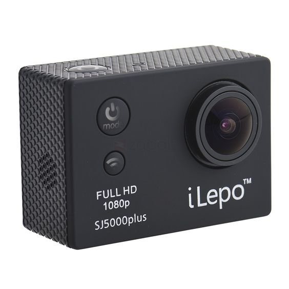 """SJ5000 Plus WiFi 1080P Full HD Waterproof Sport Action Camera. Wi-Fi Function, 30m Wi-Fi app compatible apple and Android system. 2.0 """"liquid Crystal Display (LCD), 16:9 LCD panel. 173° HD wide-angle fish-eye lens, non-deformable. Multi-language Options. A water-resistant casing that allows you to film fascinating water sports Multiple photo shooting modes: Single shot, continuous. Water-resistant up to 30 meters under water High definition screen that displays and replays"""