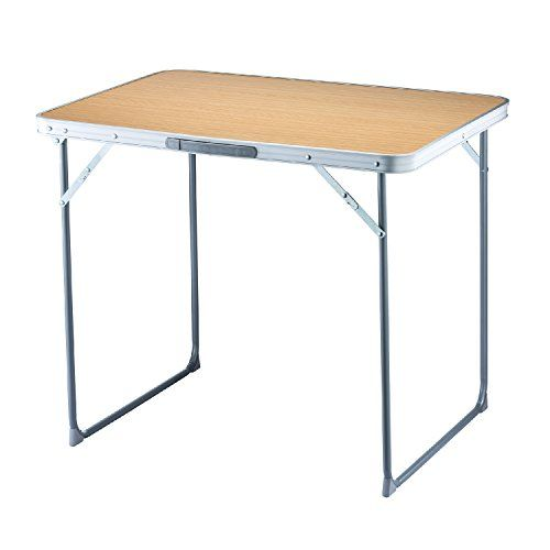 Fundango Lightweight Portable Folding Table With Carry Handle