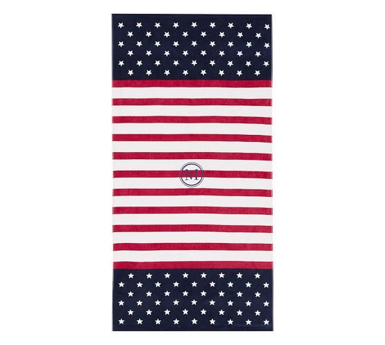 Mini Stars Beach Towel: