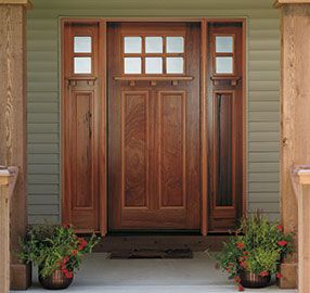 Anderson craftsman style windows craftsman entry doors for Anderson exterior doors