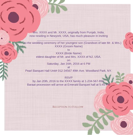 Invitation wordings- 123WeddingCards Blogu0027s Inspiration Wedding - fresh invitation wording reception