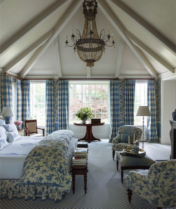 French flair in connecticut oh what a room the size - French country master bedroom ideas ...