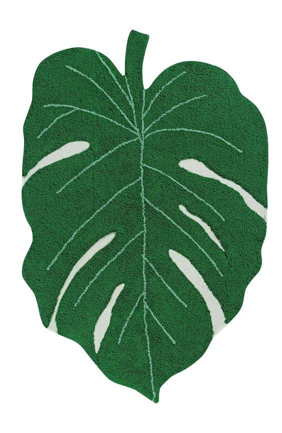 Lorena Canals tapete de folha verde para decoraçao do quarto do bebê